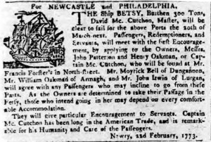 Belfast Newsletter 23 Feb 1773