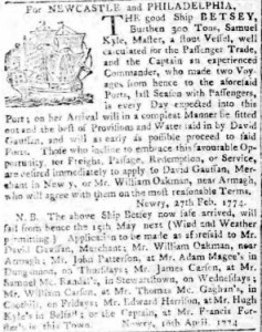 Belfast Newsletter 15 Apr 1774