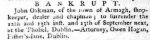 Belfast Newsletter 2 Aug 1774