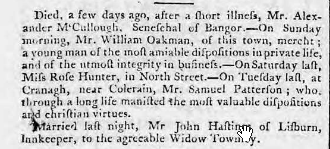 Belfast Newsletter 28 Mar - 1 Apr 1794
