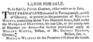 Belfast Newsletter 3 Mar 1807