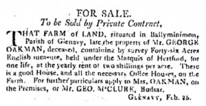 Belfast Newsletter 5 Mar 1811