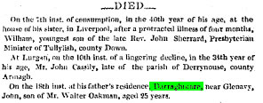 Belfast Newsletter 24 Mar 1835